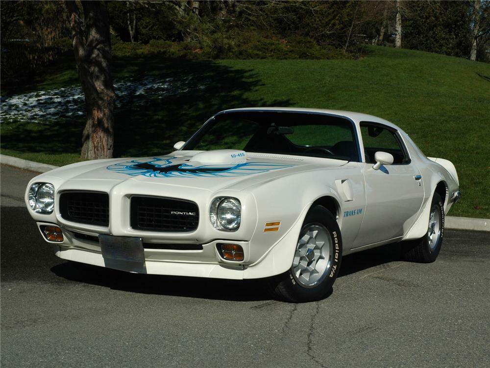 1973 Pontiac Firebird Trans Am Coupe