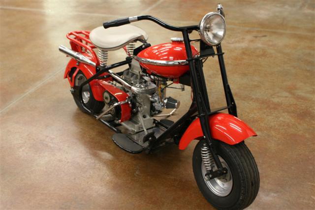 Mini North Scottsdale >> 1954 CUSHMAN EAGLE MOTORCYCLE