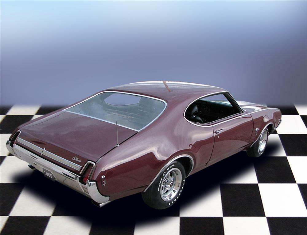 1969 OLDSMOBILE CUTLASS W31 HOLIDAY COUPE