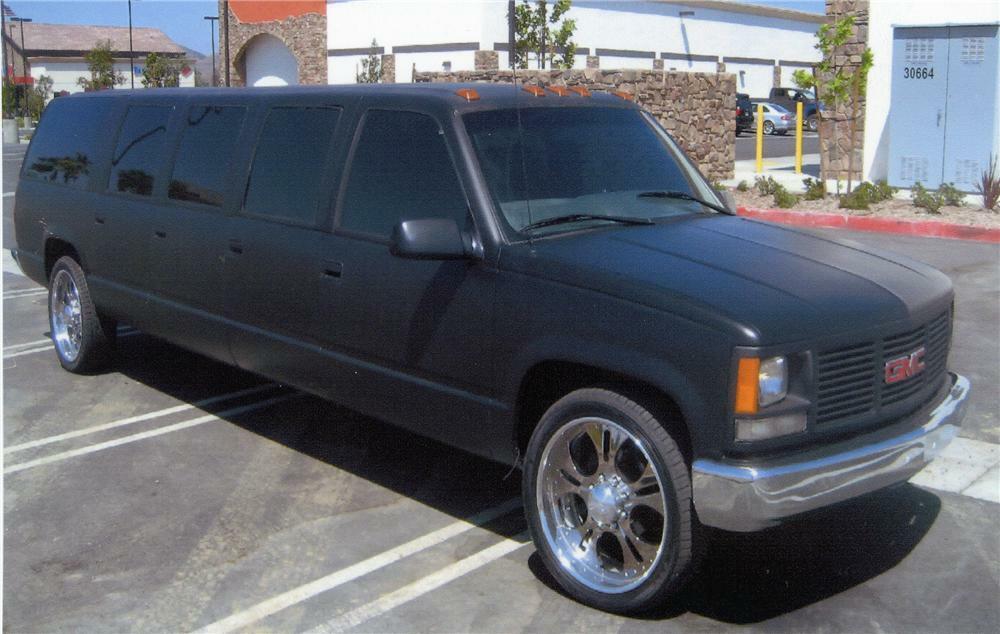 1998 gmc suburban suv limousine 1998 gmc suburban suv limousine