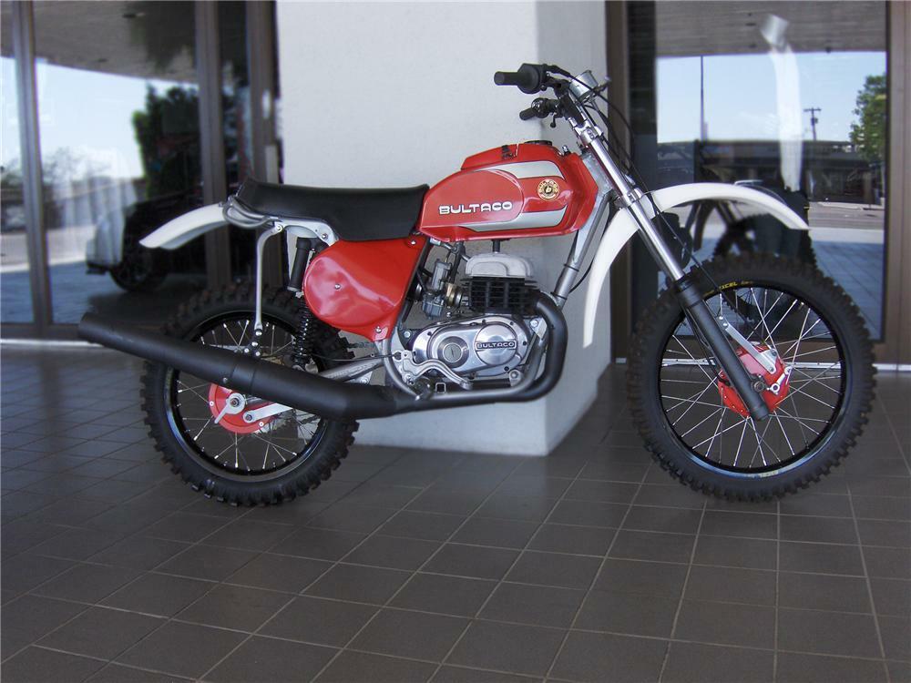 1977 BULTACO FRONTERA MK10 370 MOTORCYCLE