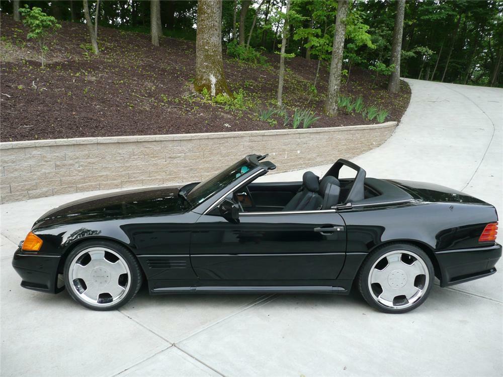 1990 Mercedes Benz 300sl 2 Door Convertible Front 3 4 81171
