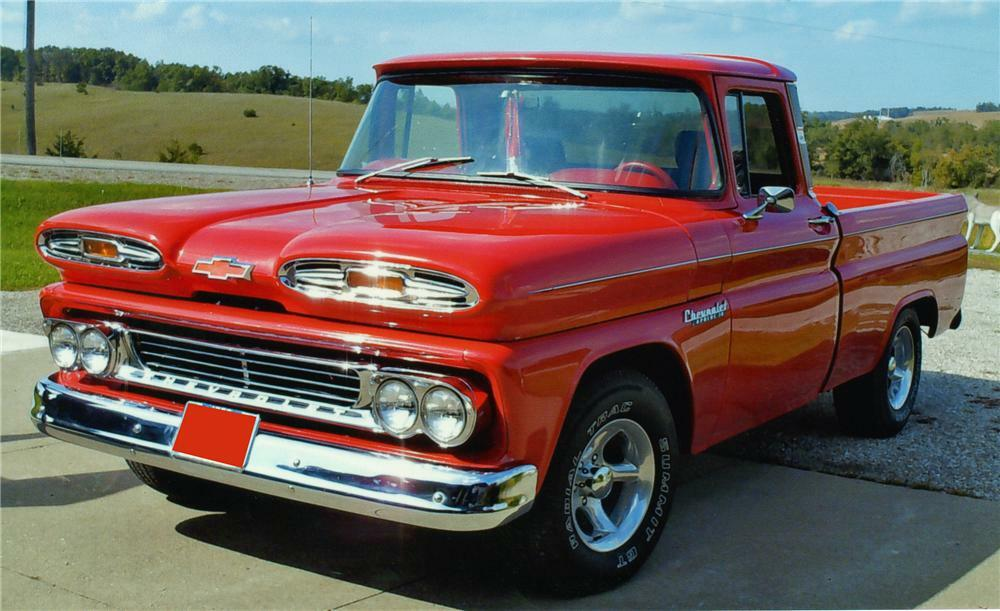1960 CHEVROLET APACHE FLEETSIDE PICKUP