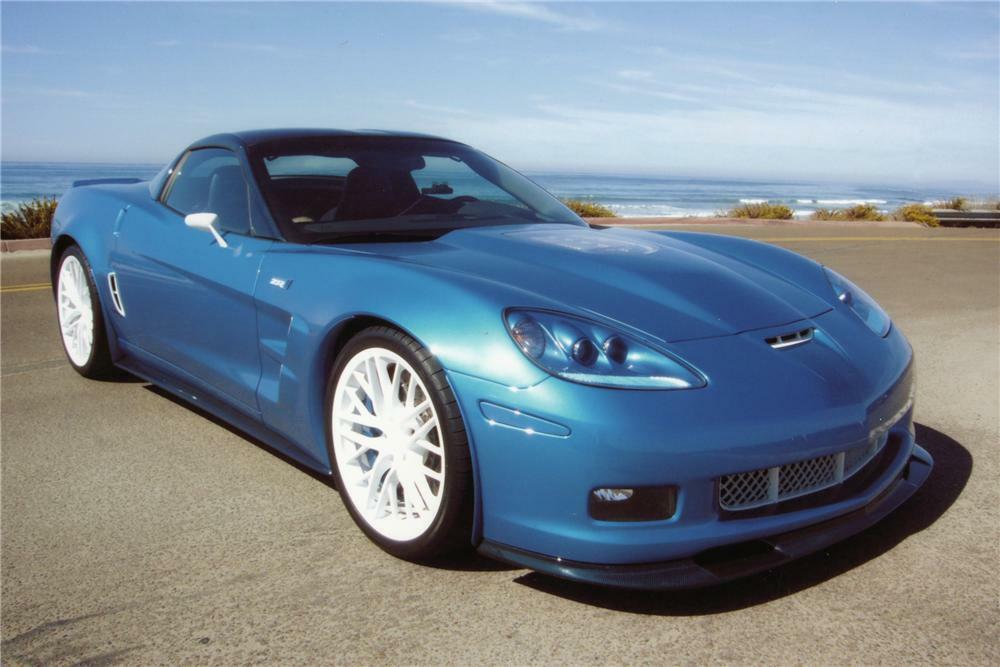 2009 Chevrolet Corvette Zr1 3zr Coupe