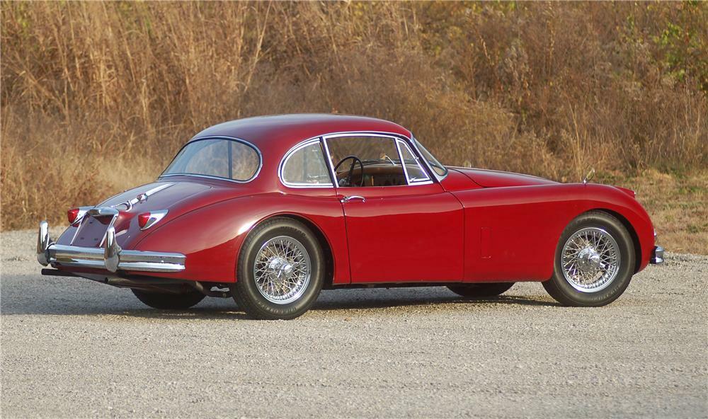 1958 jaguar xk 150 fixed head coupe 1958 jaguar xk 150 fixed head coupe