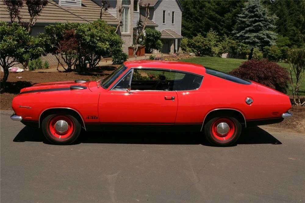 1969 PLYMOUTH CUDA 440 2 DOOR FASTBACK