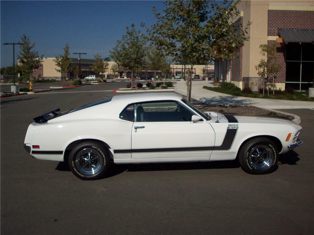 1970 Ford Mustang Boss 302 Fastback82242 Sold At