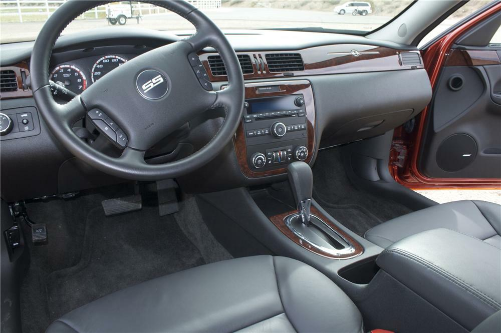 2007 Chevrolet Impala Ss Rock And Roll Pace Car Interior 82842