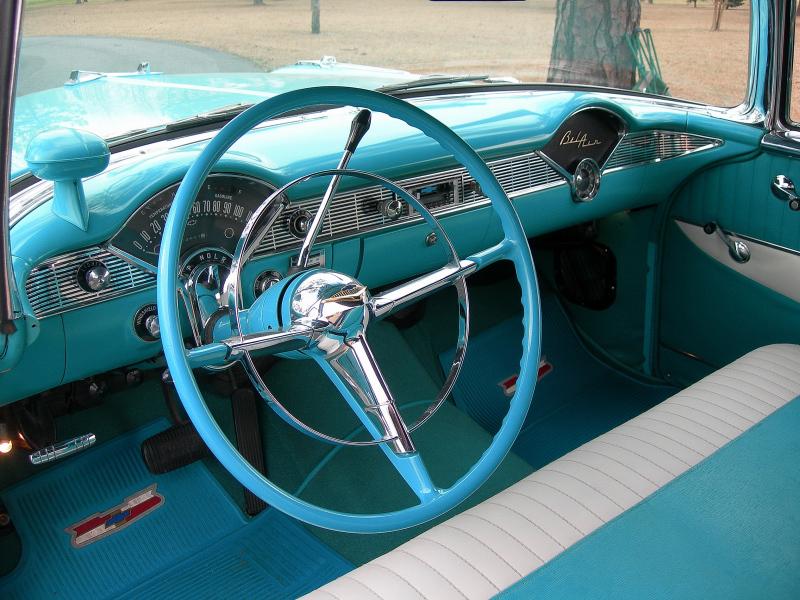 Incredible 1956 Chevrolet Bel Air 2 Door Convertible Beutiful Home Inspiration Semekurdistantinfo