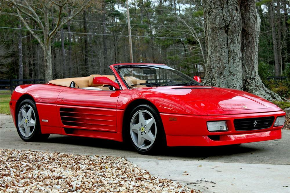 1995 Ferrari 348 Spyder Convertible