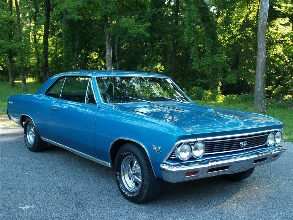 1966 CHEVROLET CHEVELLE SS 2 DOOR COUPE