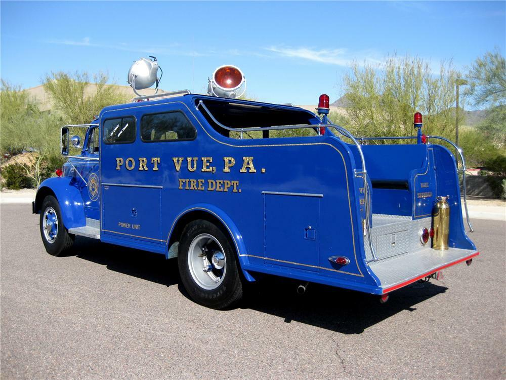 1953 REO SPEEDWAGON F-20 CUSTOM RESCUE SQUAD TRUCK