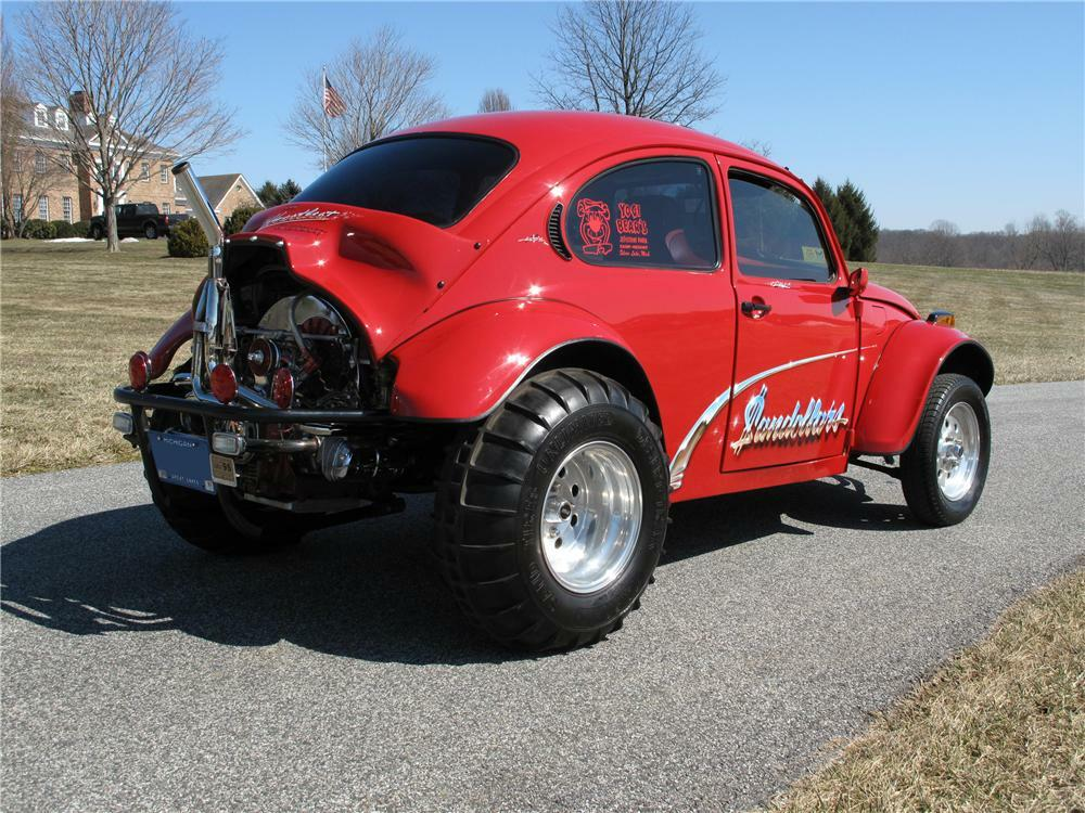 1973 Volkswagen Beetle Dune Buggy Rear 3 4 89281