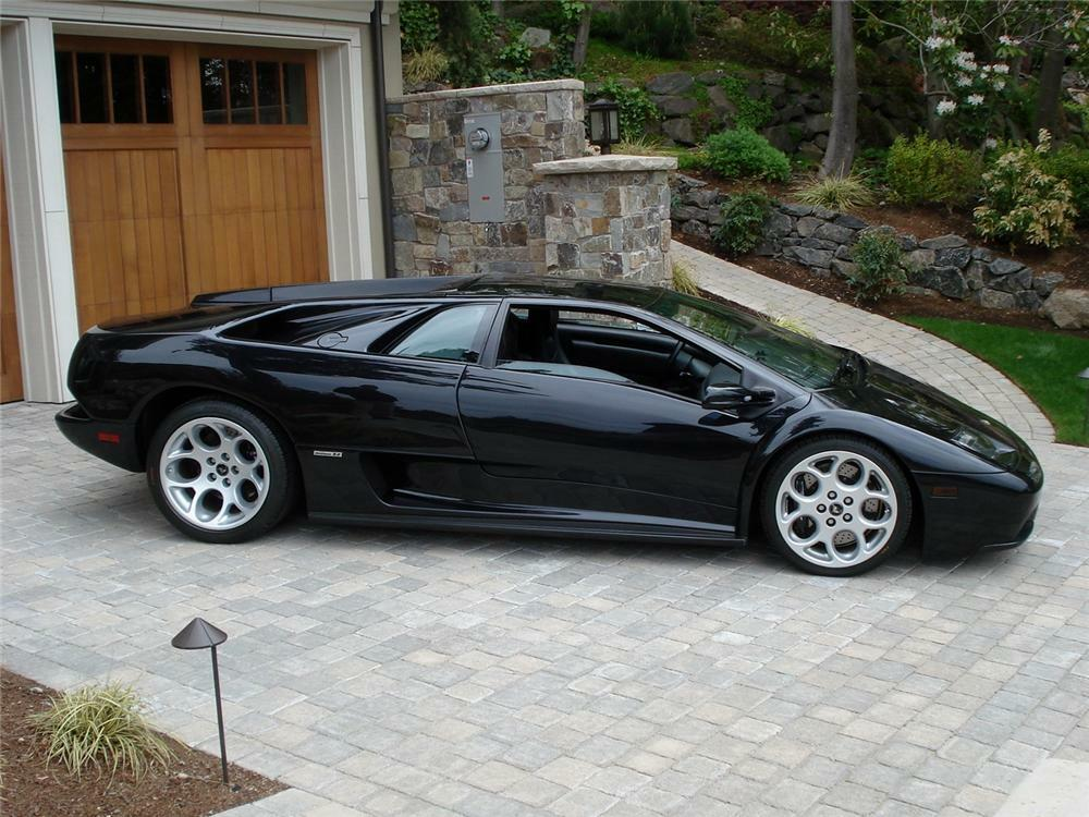 2001 Lamborghini Diablo Vt Coupe