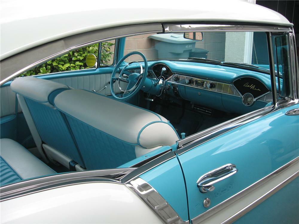 Stupendous 1956 Chevrolet Bel Air Custom 2 Door Hardtop Beutiful Home Inspiration Semekurdistantinfo