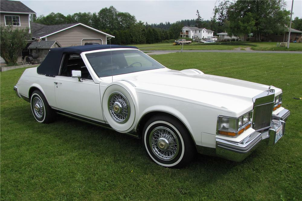 1981 Cadillac Seville Custom Opera Convertible Coupe Front 3 4 93448