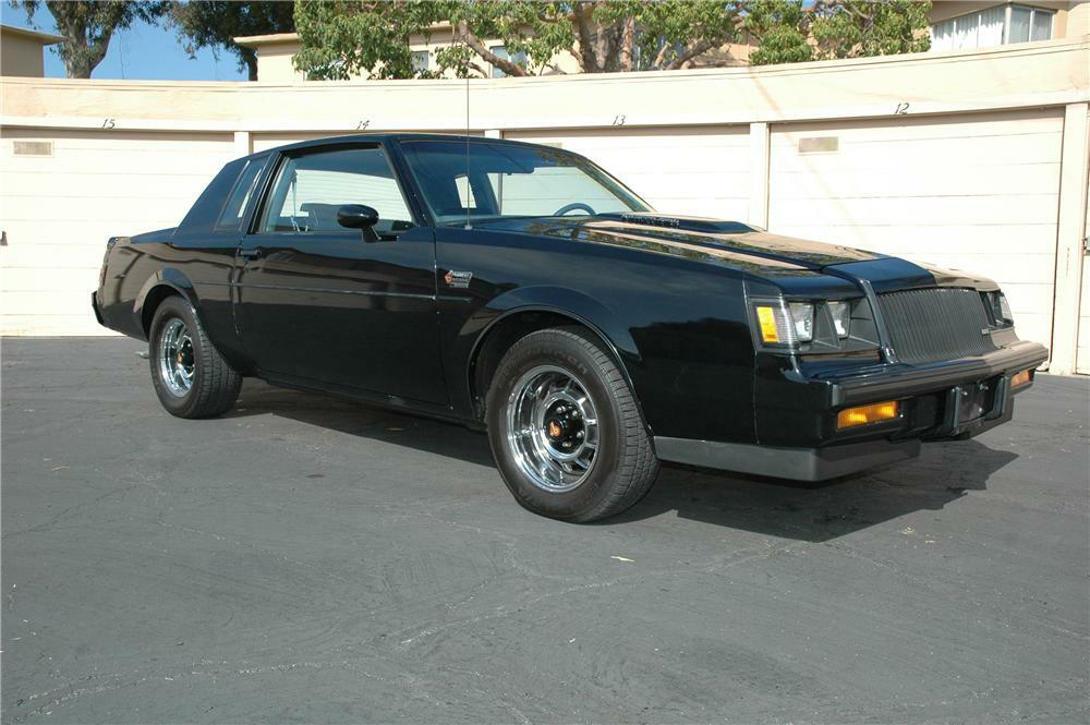 1987 Buick Grand National T Top Coupe