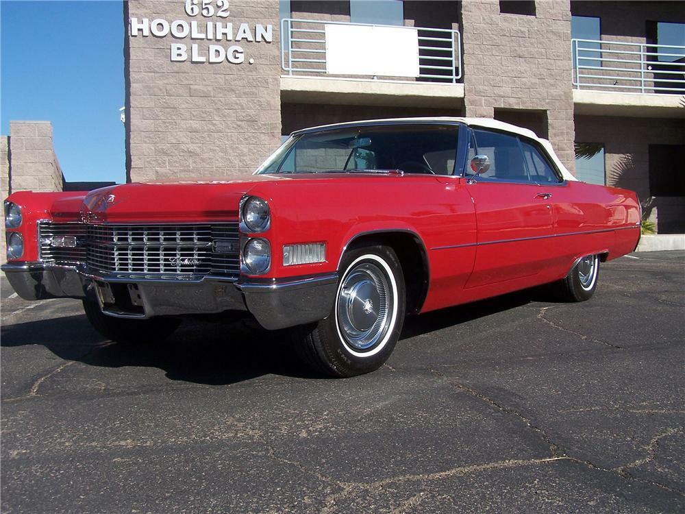 1966 Cadillac De Ville 2 Door Convertible Front 3 4 94079