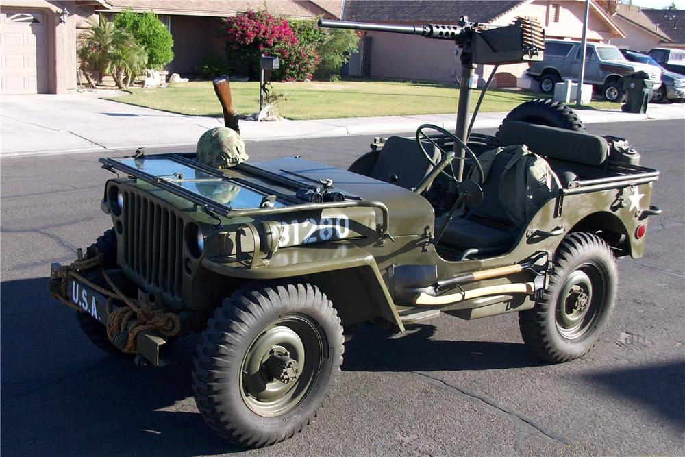 Military Jeep For Sale >> 1945 Willys Military Jeep