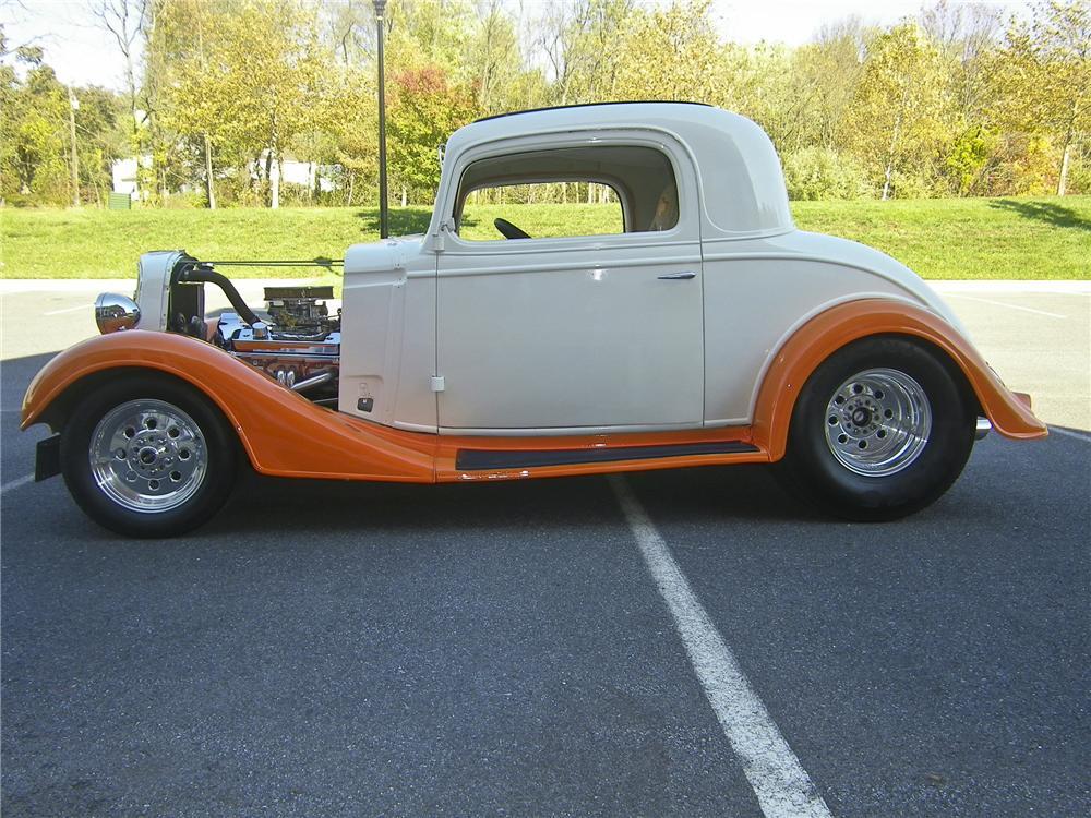 1935 Chevrolet 3 Window Custom Coupe