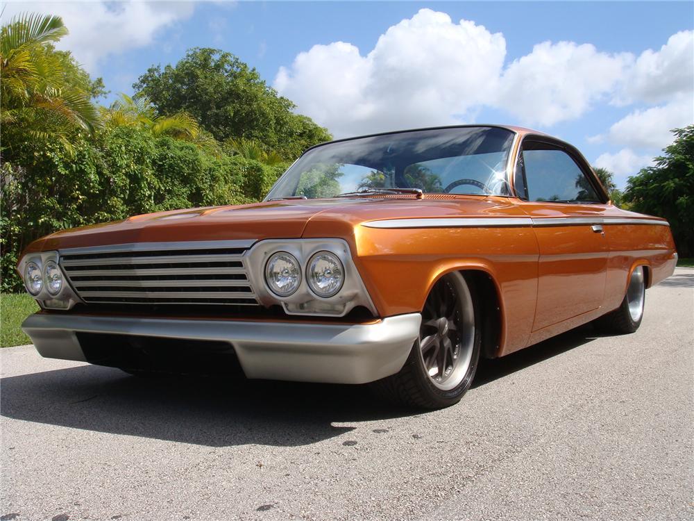 1962 Chevrolet Bel Air Custom 2 Door Coupe