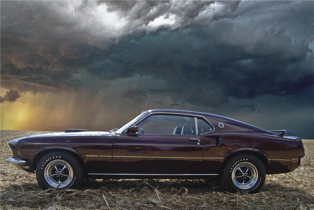 1969 Ford Mustang Mach 1 428 Cj Fastback