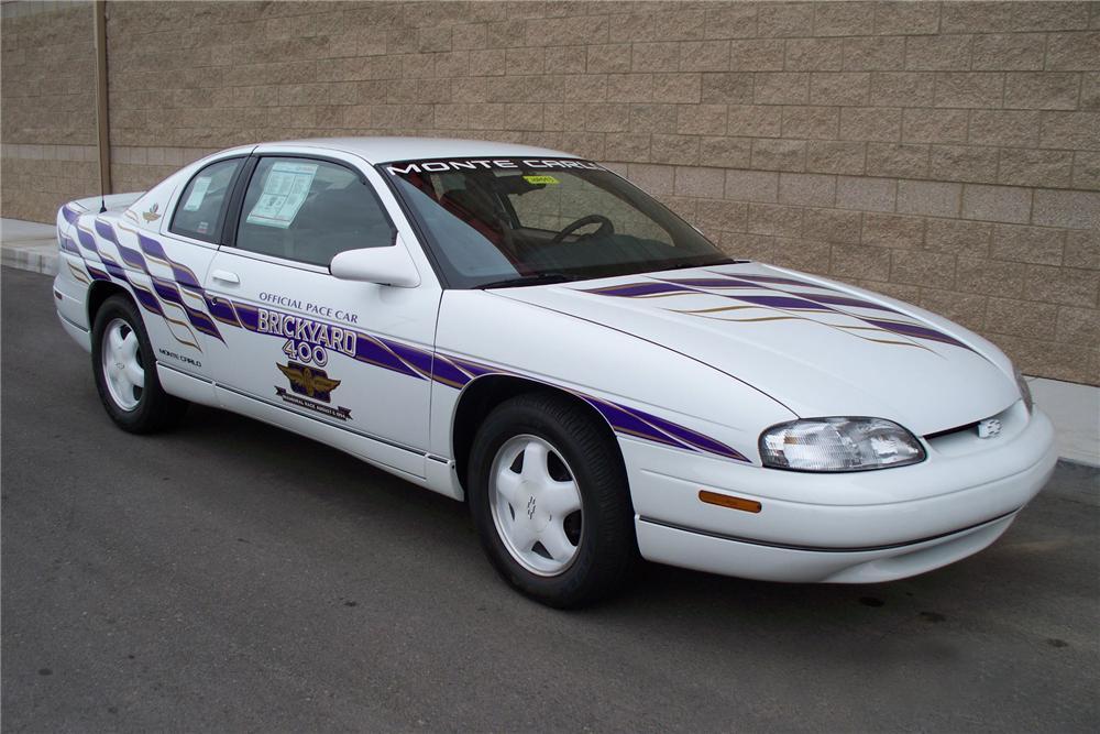 1995 chevrolet monte carlo brickyard 400 pace car 1995 chevrolet monte carlo brickyard