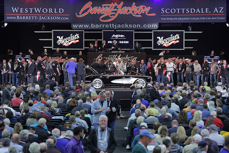 BarrettJackson Auction Company Scottsdale - Scottsdale az car show