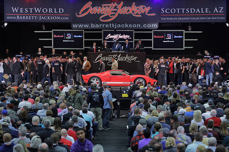 BarrettJackson Auction Company Scottsdale - Scottsdale car show today