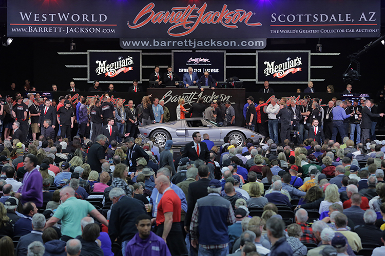 BarrettJackson Auction Company Scottsdale - Westworld scottsdale car show