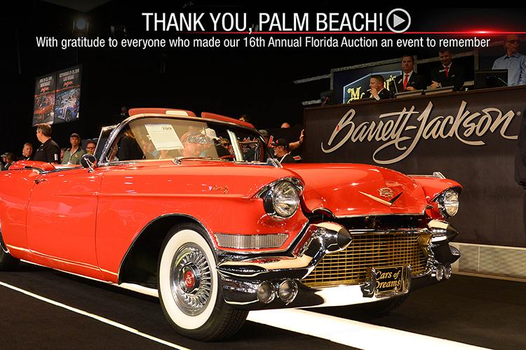 BarrettJackson Auction Company Palm Beach - Car show west palm beach 2018